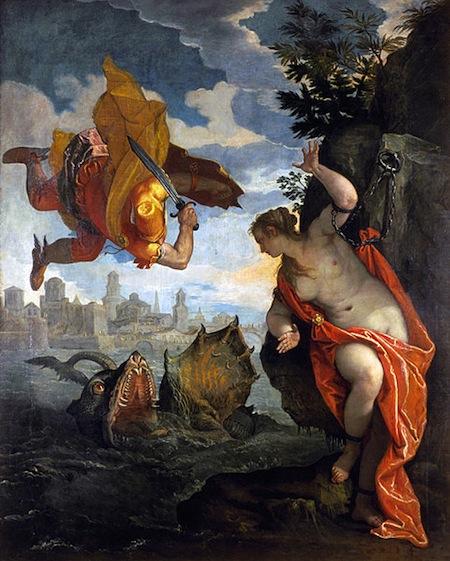 Andromeda en Perseus